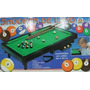Snooker De Luxo - Mini Bilhar 68 Cm X 38 Cm