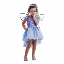 Fantasia Fadinhas Lilas 3 A 4 Anos