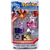 4 Bonecos Pokemon Charizard, Sylveon, Espeon, Pancham