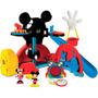 Casa Do Mickey C/6 Personagens Mattel - Novissimo