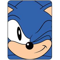 Sonic O Blanket Hedgehog Wink Velo