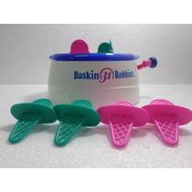 Maquina De Sorvete De Brinquedo Marca Baskin Em Otimo Estado