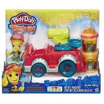 Play Doh - Town Caminhão De Bombeiro - Hasbro