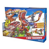 Hot Wheels Pista Ataque Do T-rex