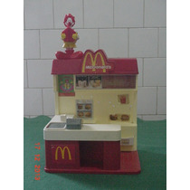 * Lanchonete Do Mac Donald´s - Altura:28cm - Largura:23cm *