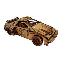Brinquedo De Montar - Quebra-cabeça 3d - Carro Trovão