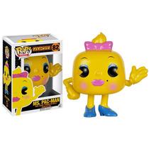 Funko Pop Jogos: Pac-man - Ms. Pac-man Vinyl Figure