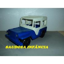 Jeep Capota Rigida Brinquedos Estrela Ótimo Estado S/ Uso !!