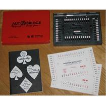 Autobridge Playing Game Pocket Usa Vintage 1959 Leilão !!!!!