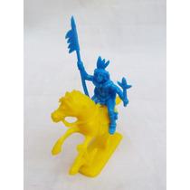 Brinquedo Antigo Índio Guerreiro Peça Coleção E Decoração..