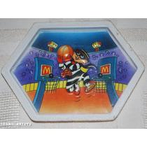 Jogo Encaixe De Bolinhas Mcdonalds Papaburger 9,5x7cm Anos80