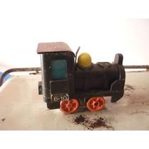 Brinquedo Antigo Trem A Pilha Funcionando Pequeno E Lindo