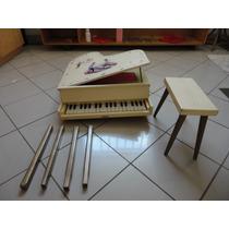 Piano Antigo De Cauda Infantil Estrela