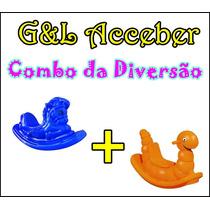 Combo 1 Gangorra Nhoca E 1 Gangorra Cavalinho- Playground !!