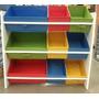 Estante Organizador Para Brinquedos Com Prateleiras E Caixas