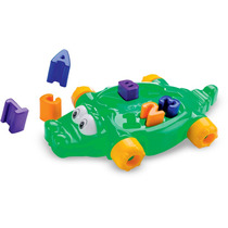 Brinquedo De Montar Jacaré Didático Mk 191 Dismat Original