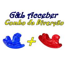Combo Gangorra Cavalinho / 2 Gangorra Cavalinho