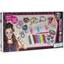Monster High Loom Completo Crie Sua Pulseira - Fun