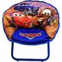 Cadeira Lua Infantil Dobrável Carros Disney