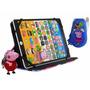 Tablet Infantil Educativo Peppa + Capa + Chaveiro + Celular