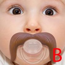 Bico Bigode Dente Engraçado Bebe Criança