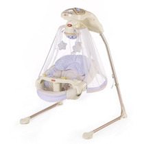 Cadeira Balaço Fisher-price Papasan Cradle Swing Starlight
