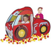 Toca Car Chuck & Friends 80 Bolinhas Braskit Pronta Entrega
