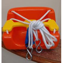 Balanço Infantil Para Bebe De Plástico C/ Cordas E Ganchos