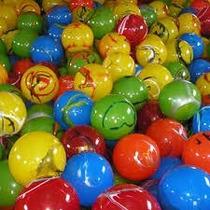 Kit Com 10 Bolas De Vinil 38 Cm Tamanho Parque