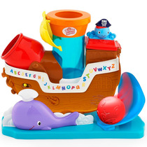 Brinquedo De Bebe Navio Pirata Pop N Rock Bright Starts