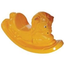 Gangorra Cavalinho Balanço Infantil Amarelo