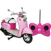 Barbie Motocicleta Controle Remoto Baterias Inclusas 7fun