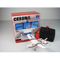 Avião Lanyu Mini Cessna Tw781 2ch Indoor Rtr