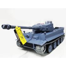 Tanque De Guerra Rc German Tiger I Upgrade 3818-1-t Completo