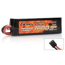 Bateria Lipo 2s 7.4v 7600mah 25c Gens Ace 2s 1p Traxxas