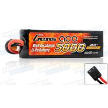 Bateria Lipo 2s 7.4v 5000mah 25c Gens Ace 2s1p Traxxas
