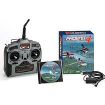 Simulador Phoenix V4.0 Radio Dx5 Rtm40r5510 Helimodelo Aero