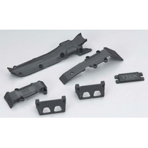 Traxxas Skid Plate Set 1/16 E-revo/slash Vxl 7037