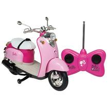 Moto Com Controle Remoto - Barbie - Boneca Barbie