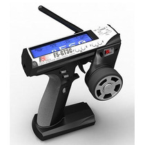 Rádio Flysky 2.4ghz 3-canais Digital Bateria Lipo Fs-gt3c