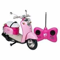 Moto Elétrica Da Boneca Barbie Com Controle Remoto