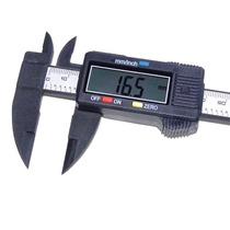 Paquimetro Digital Profissional Fibra De Carbono 0mm - 150mm