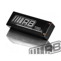 Bateria Rb Hard Case Lipo 2s 7.4v 75c 7000mah (12x Sem Juros