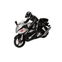 Brinquedo Moto Veloz Controle Remoto Rc Marca Buba