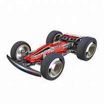 Carrinho Controle 3d Twister Acrobacias 2903 Dtc Vermelho