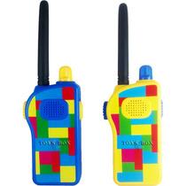 Rádio Walk Talk (walkie Talkie) Colorido