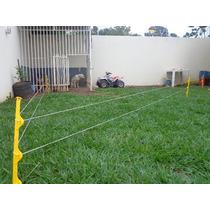 Kit Cerca Elétrica Móvel P Contenção De Cães E Gatos