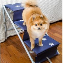 Escada Ou Rampa Caes Cachorro Tubline Dobravel