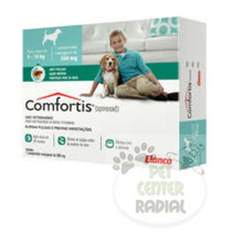 Anti Pulgas Elanco Comfortis 560 Mg Para Cães De 9 A 18 Kg
