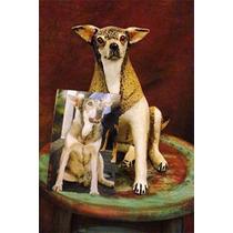 Escultura Do Seu Cão Com 10 Cm